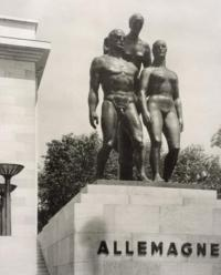 Josef Thorak sculpture German pavilion Paris Exposition 1937