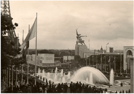 Fetes de la lumiere Paris Exposition 1937
