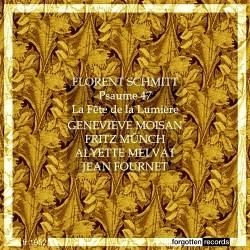 Forent Schmitt Psaume XLVII Fete de la lumiere Munch Fournet