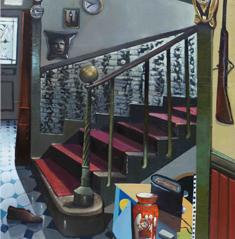 Mathieu Cherkit staircase