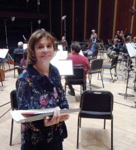 BPO recording session JoAnn Falletta 2019