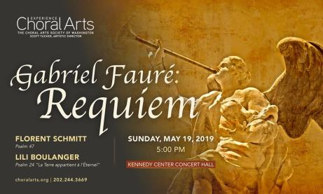 Washington Choral Arts Schmitt Faure Tucker May 2019