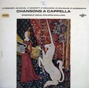 Chansons a cappella Collard Schmitt Erato a contre-voix