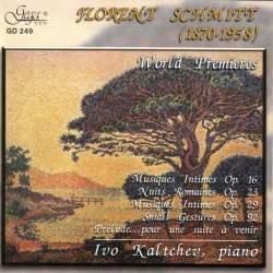 Florent Schmitt piano music Kaltchev Gega