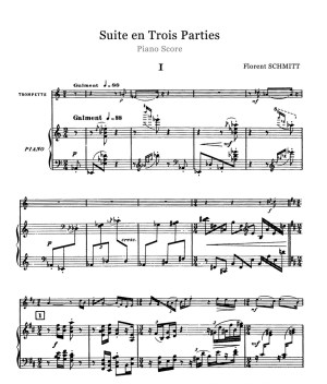 Florent Schmitt Trumpet Suite