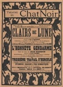 Le Chat noir poster artwork