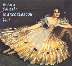 The Art of Yolanda Marcoulescou Vol. 1 Gasparo 1997
