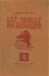 Les Fables du Sanglier Charles Sanglier