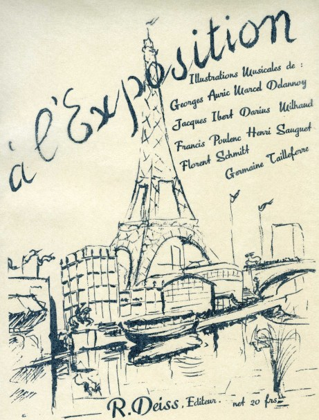 a l'Exposition Illustrations Musicales 1937 Deiss