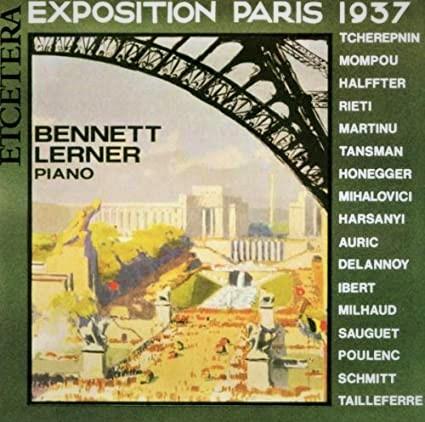 Exposition Paris 1937 Bennett Lerner Et Cetera