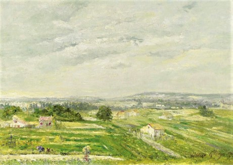 Gleizes painting impressionist