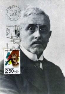 Florent Schmitt First Day Issue postage stamp 1992