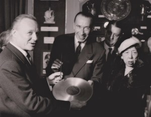 Andre Cluytens Pierre Bourgeois Georges Auric Marguerite Long 1958
