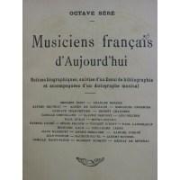 Octave Sere Musiciens francais d'Aujourd'hui 1912