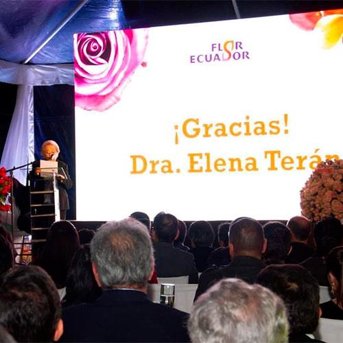 Elena Terán - Florequisa Founder