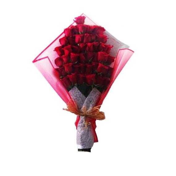 Ramo Grande de Rosas Rojas