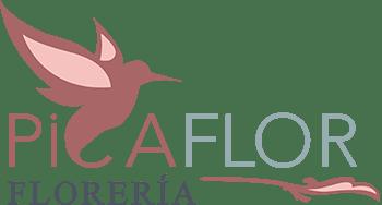 Logo de floreria picaflor