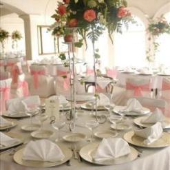 CM1 - Centro de mesa con arreglo floral para eventos
