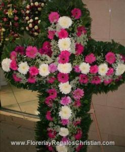 Arreglos florales para funerales en Tijuana.
