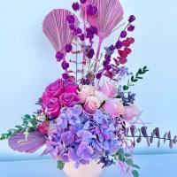 Estilo Boho chic & flowers naturales