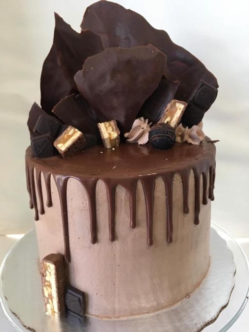 Delicioso mousse de chocolate