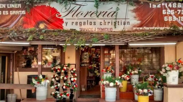 Fachada de la Floreria Y Regalos Christian en Tijuana