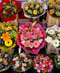 Precio libre, elija la cantidad a pagar por sus flores en Tijuana