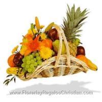 canaste de frutas tropicales - FR8