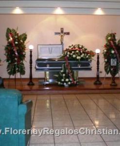 Paquete para funeral con 5 arreglos - FU20