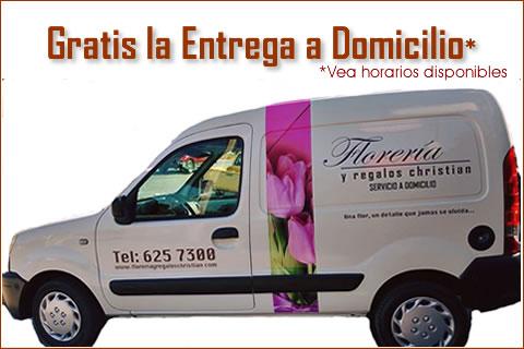 Gratis la entrega a domicilio en Tijuana de su pedido de flores.