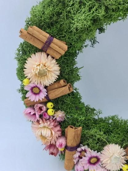 colgante floral