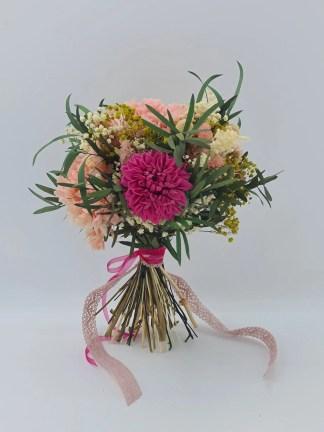 ramo novia con dalia