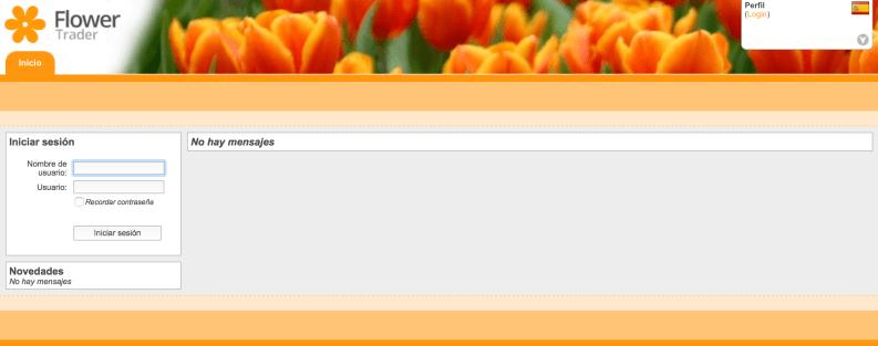 Tienda online mayorista flores