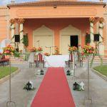 Decoración ceremonia civil. Flores del Patio