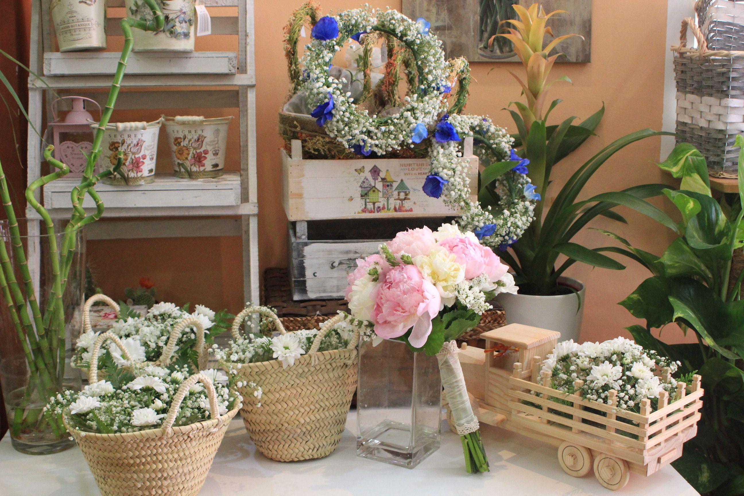 Detalles decoración. Flores del Patio