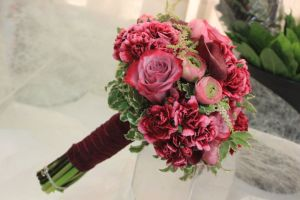 Ramo de novia. Flores del Patio