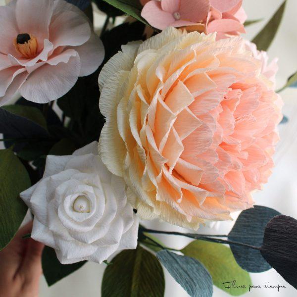 flores realistas para siempre