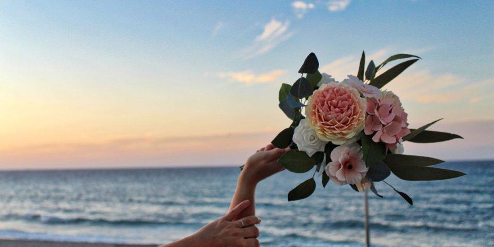 ramos de novia y recreaciones