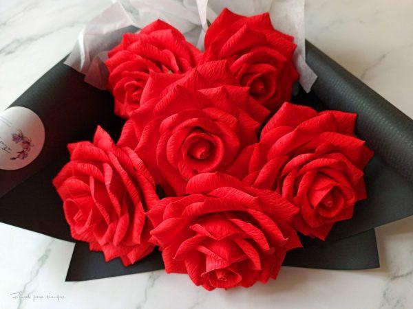 rosas rojas flores para siempre