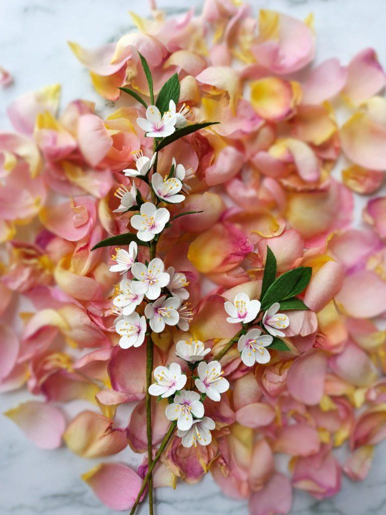 ramos de novia de papel flores papel crepé