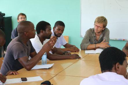 Workshop avec les techniciens formés par Music Fund