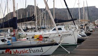 Florestan au Royal Cape Yacht Club