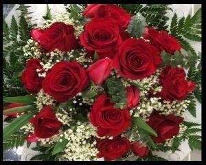 Ramo 12 Rosas y Tulipanes
