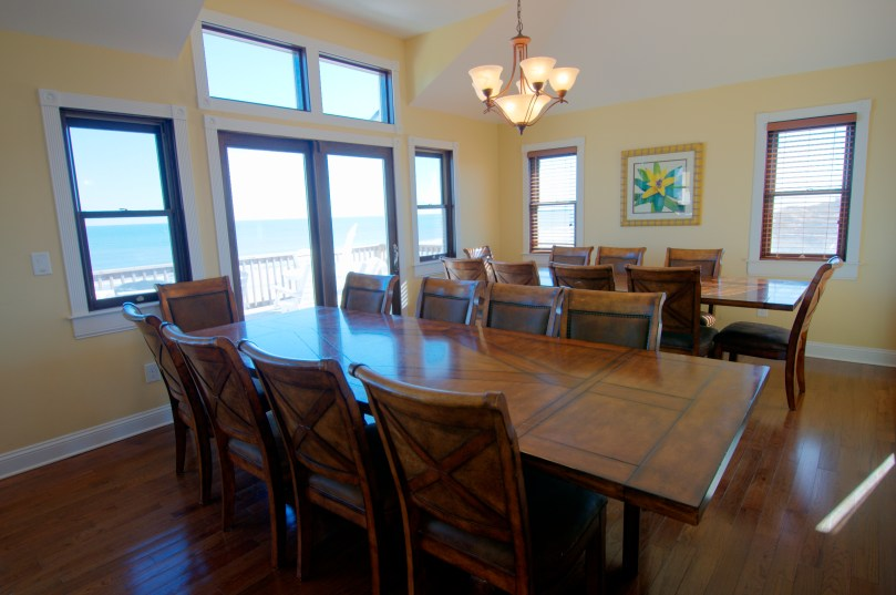 Dining Room on Property #765 Managed By: Carolina Designs Realty.