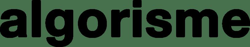 Logotype de l'exposition algorisme à la friche de la belle de mai Marseille