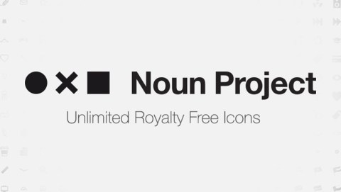 The Noun Project, site internet d'iconographie pour le web design et le motion design