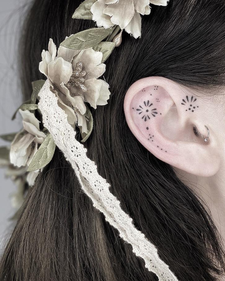 Blum.ttt : Du design graphique aux tatouages ornementaux