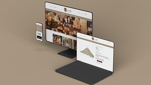 Etincelles shop, création de site e-commerce