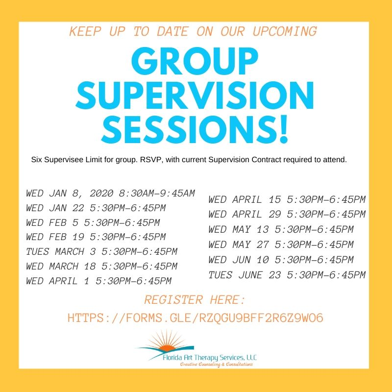 Group Supervision Calendar