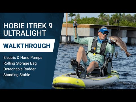 Hobie Mirage iTrek 9 Ultralight Inflatable Kayak: Perfectly Portable, Maneuverable and Hassle-free